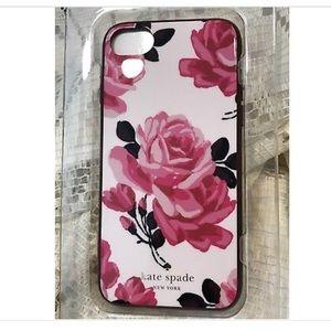 Kate Spade Selavi Rose phone case for iPhone 7/8